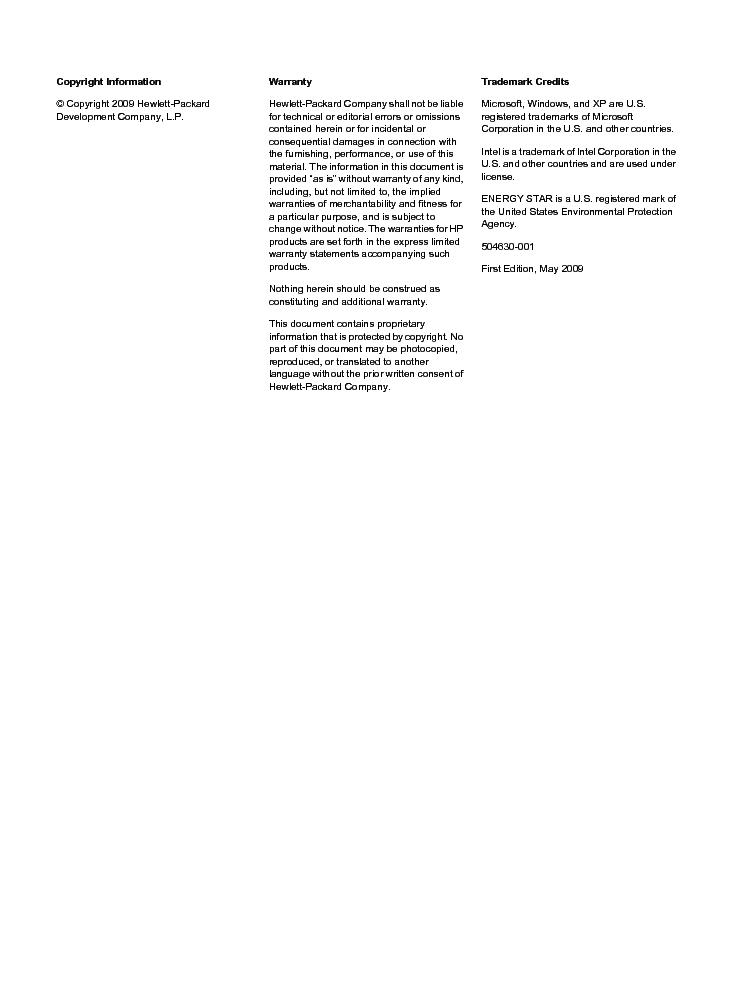 Hp Z400 Workstation Manual