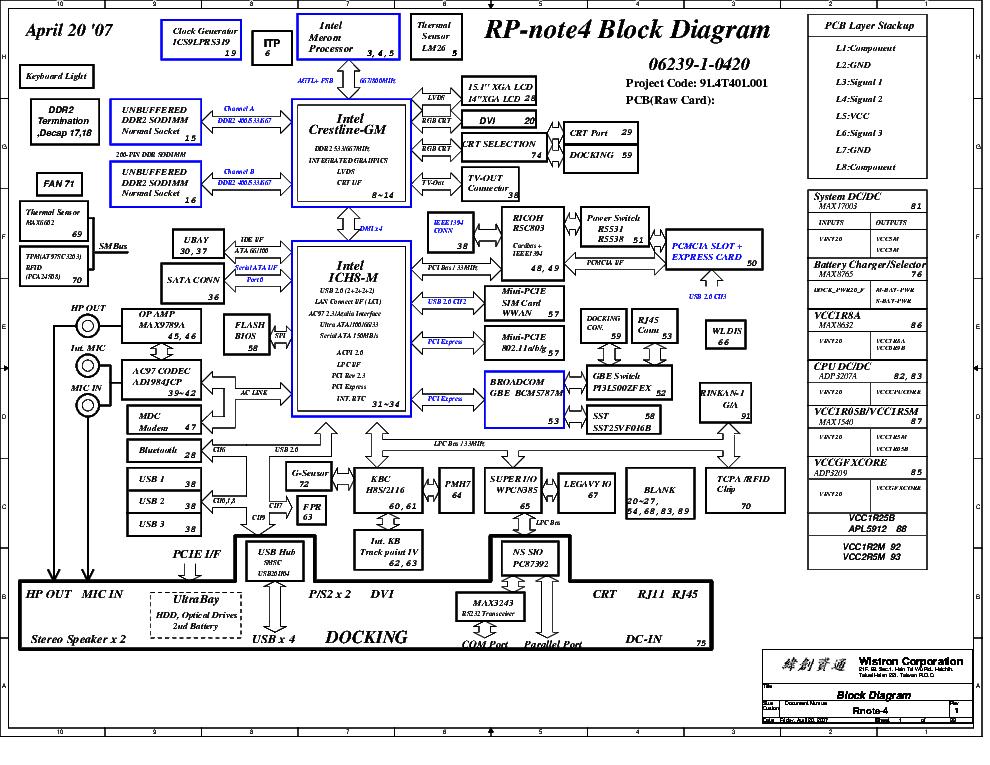 Ibm Thinkpad T61 T61p 14 1inch Service Manual Download