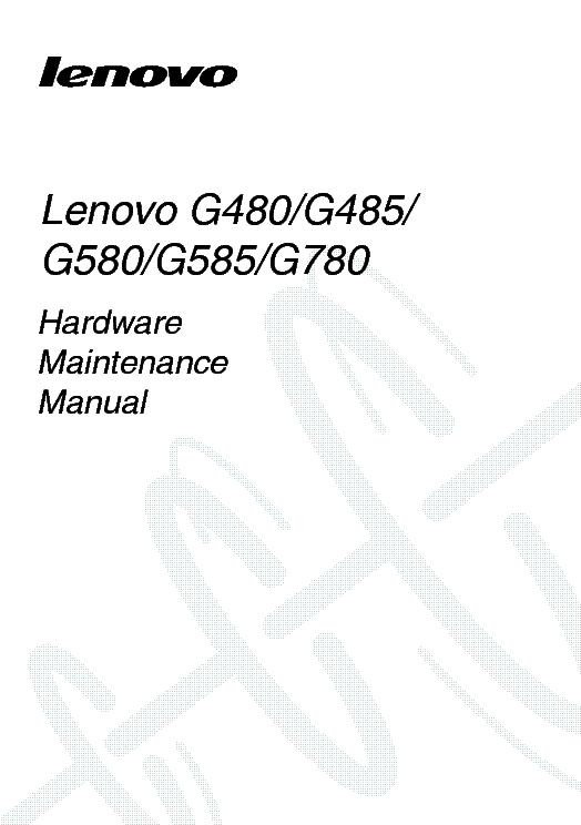 Lenovo G480 G485 G580 G585 G780 Hmm Ver 1 0 Service Manual Download  Schematics  Eeprom  Repair