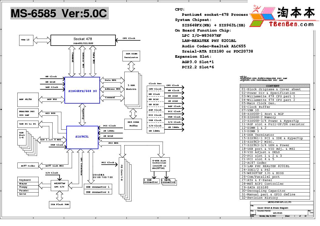 MSI MS-6585 DRIVERS WINDOWS XP
