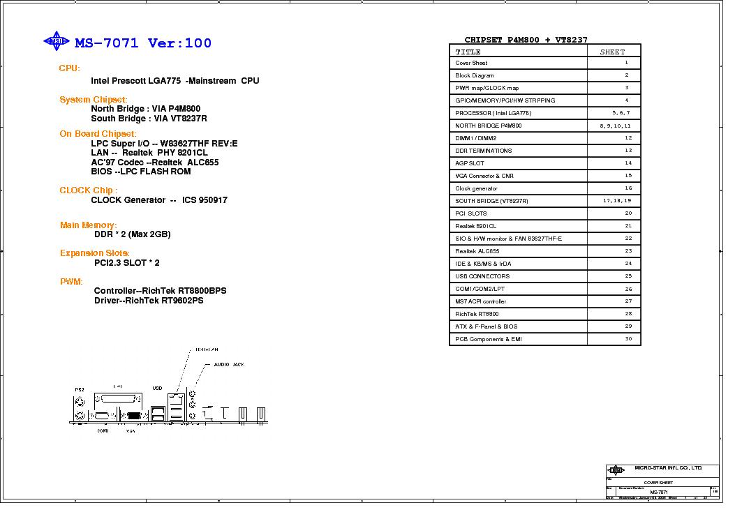 MICRO STAR MS 7071 DRIVERS (2019)