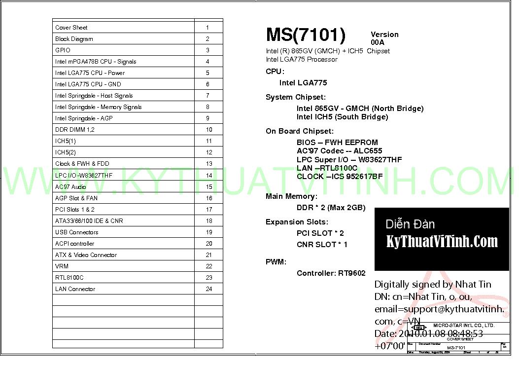 NEW DRIVERS: MSI MS-7101 VGA
