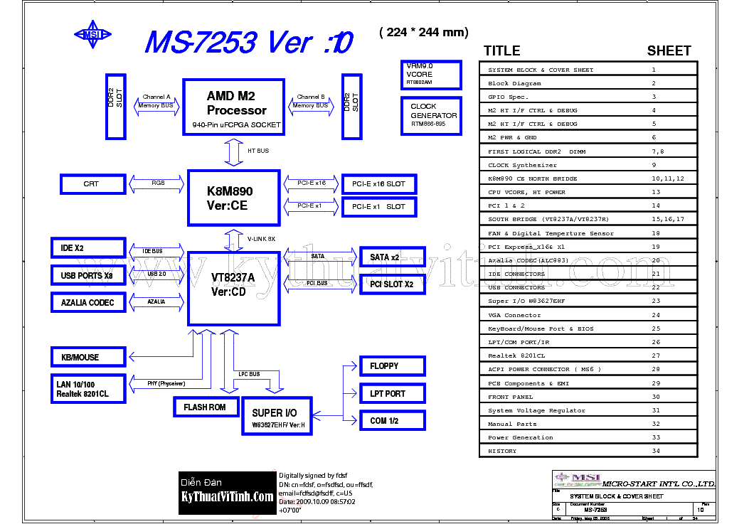 MSI MS-7253 REV 1.0 SCH service manual (1st page)