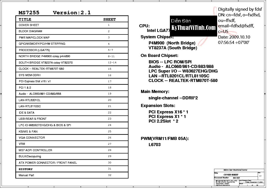 Ms 7005 ver 1 manual