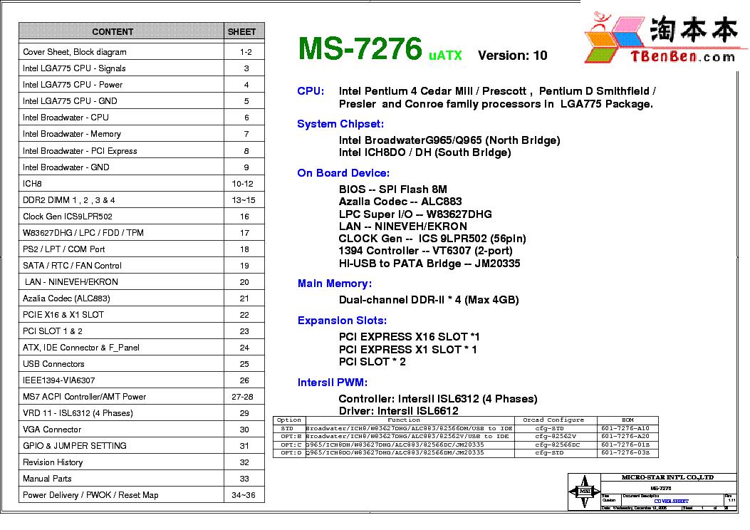 MSI 7276 WINDOWS 7 DRIVER