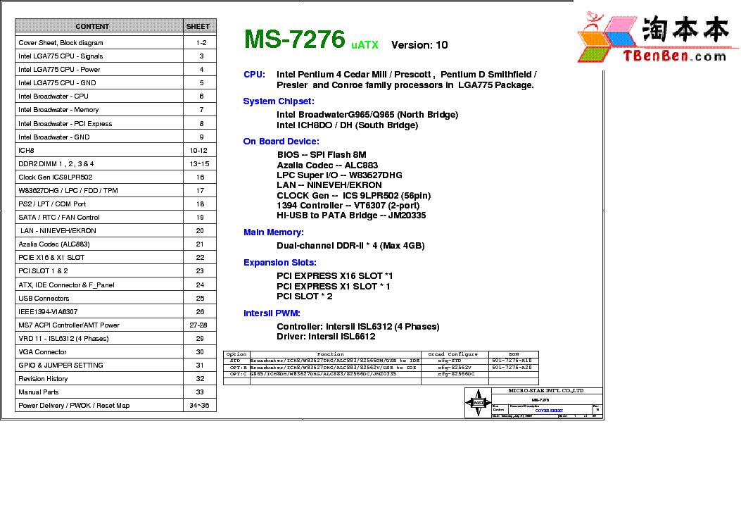MSI MS-7276 TREIBER WINDOWS XP