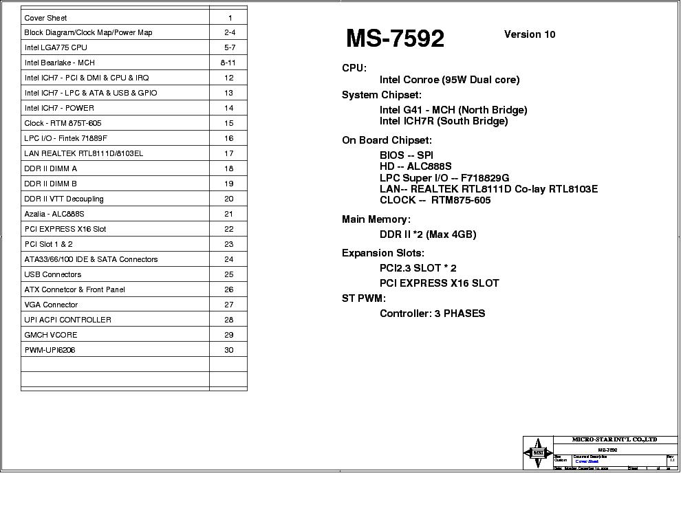 msi ms 7592 rev 1 1 sch service manual download schematics eeprom rh elektrotanya com ms-7592 motherboard manual ms 7592 motherboard specs