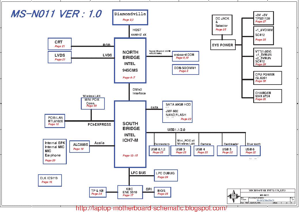 msi wind u100 u90 ms n011 rev 1 0 sch service manual download rh elektrotanya com MSI U100 Netbook Fan MSI Netbook U100 Drivers