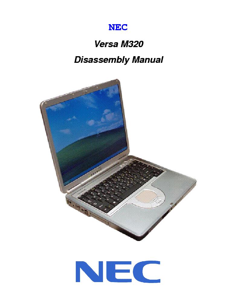 nec versa m320dm sm service manual download schematics eeprom rh elektrotanya com NEC Products NEC VersaPro