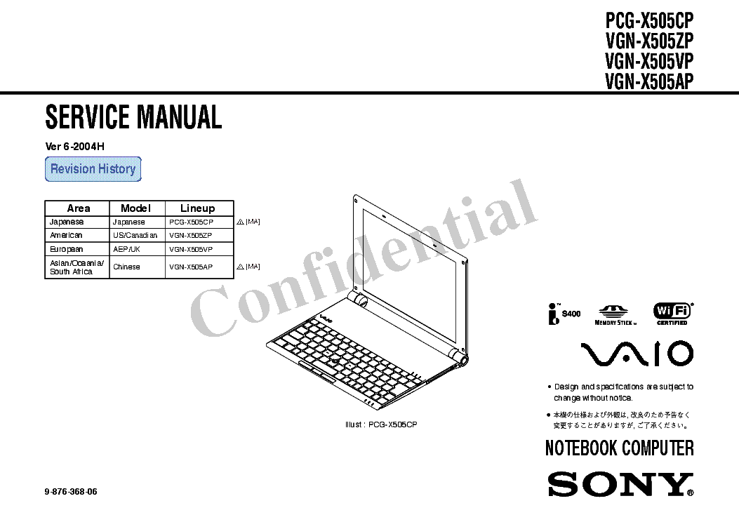 Sony Pcg