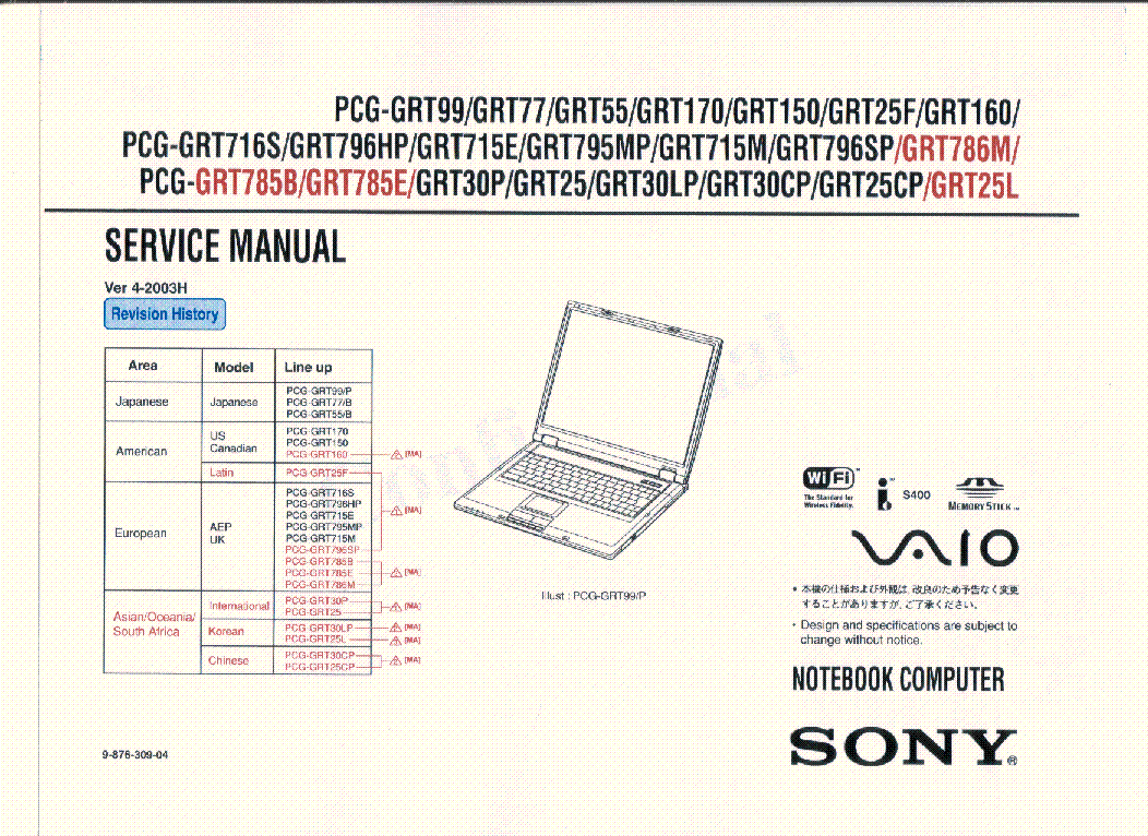 sony vaio pcg grt series sm service manual download schematics rh elektrotanya com