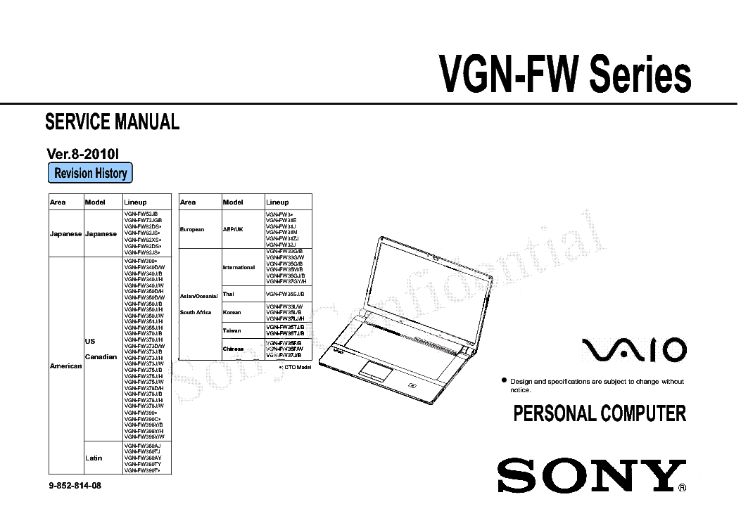 sony vaio vgn fw series sm service manual download schematics rh elektrotanya com