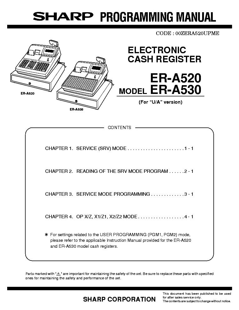 sharp xe a22h service manual download schematics eeprom repair rh elektrotanya com