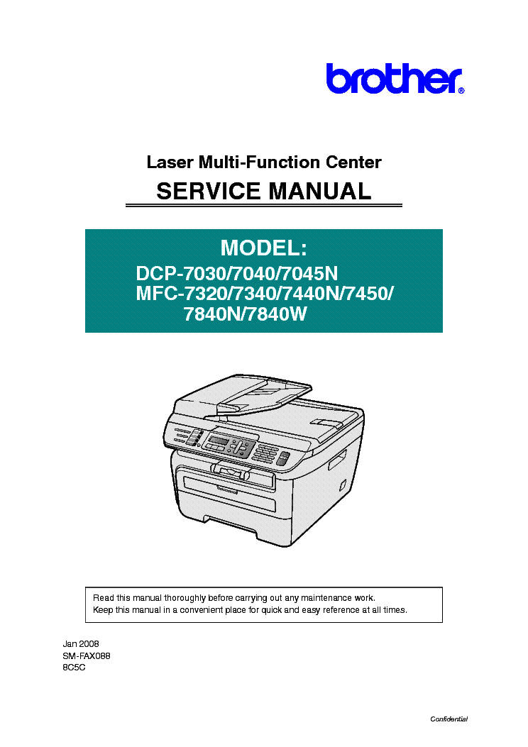 Brother Mfc 6490cw Service Manual Pdf
