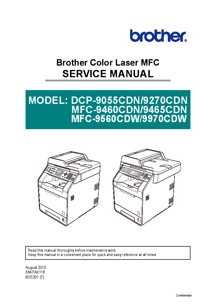 User's Guide | Manuals | MFC-9970CDW | United States | Brother