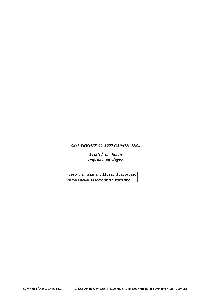 CANOSCAN N650U N656U DRIVER DOWNLOAD (2019)