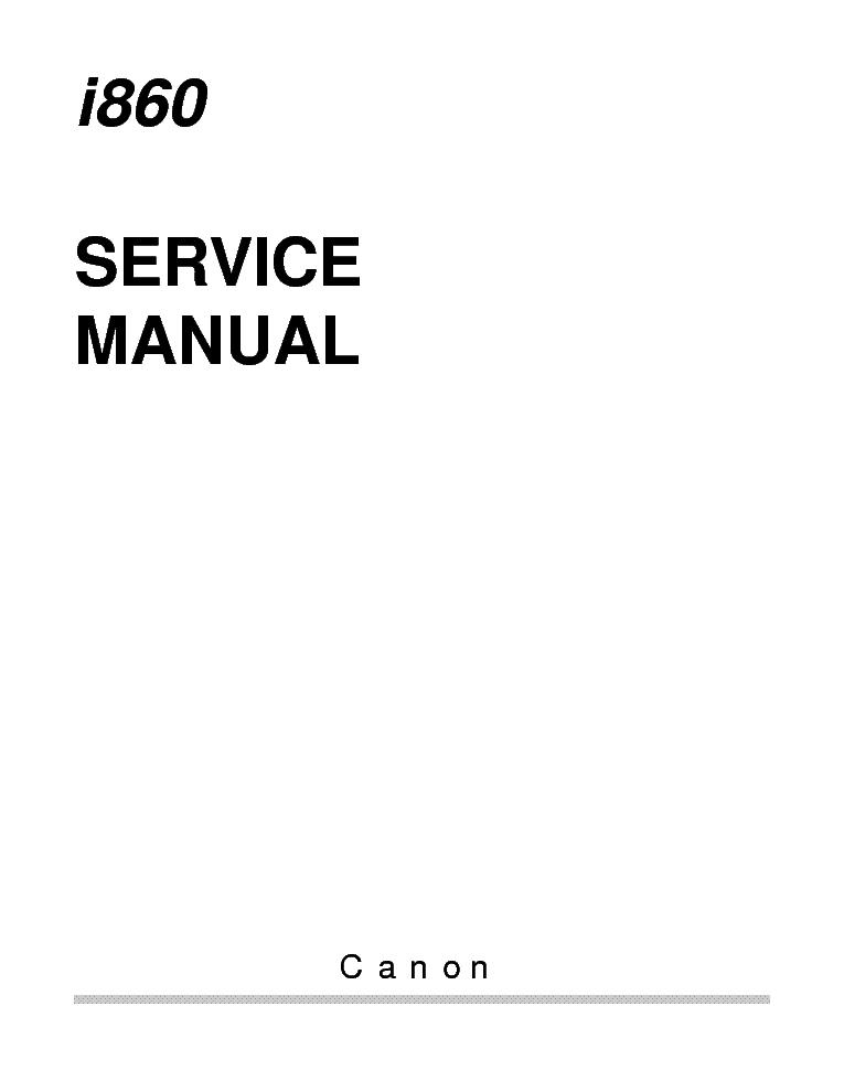 canon i860 i865 pixus 860i sm service manual download schematics rh elektrotanya com canon inkjet i860 manual I860 Baby Phat