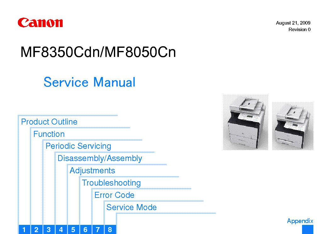 canon imageclass mf8350cdn mf8050cn mf8330cdn mf8030cn series rh elektrotanya com Home Repair Manuals Canon Camera Manuals PowerShot
