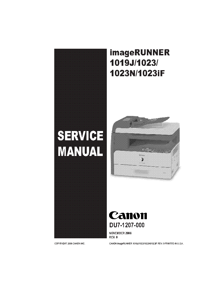 canon ir1019 ir1023 sm service manual download schematics eeprom rh elektrotanya com Canon PIXMA iP4000 Troubleshooting canon pixma ip4000 repair manual