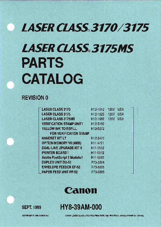 CANON LASER CLASS 3175MS DRIVER FOR WINDOWS 7