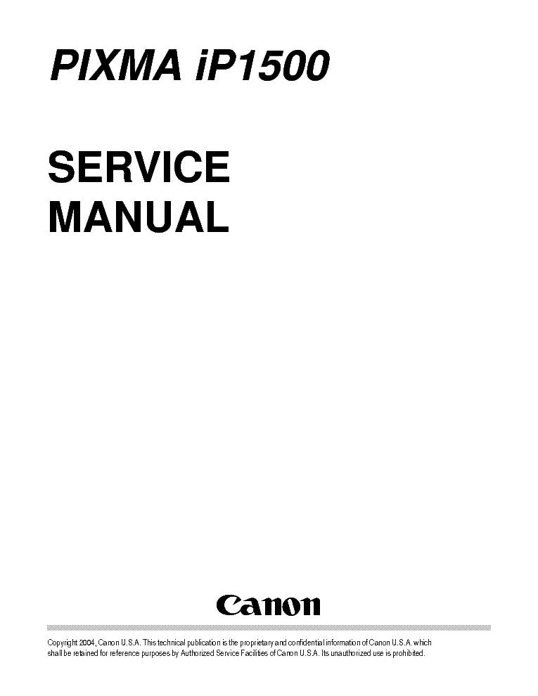 canon pixma ip1500 sm service manual download schematics eeprom rh elektrotanya com PIXMA iP4000 PIXMA iP4000