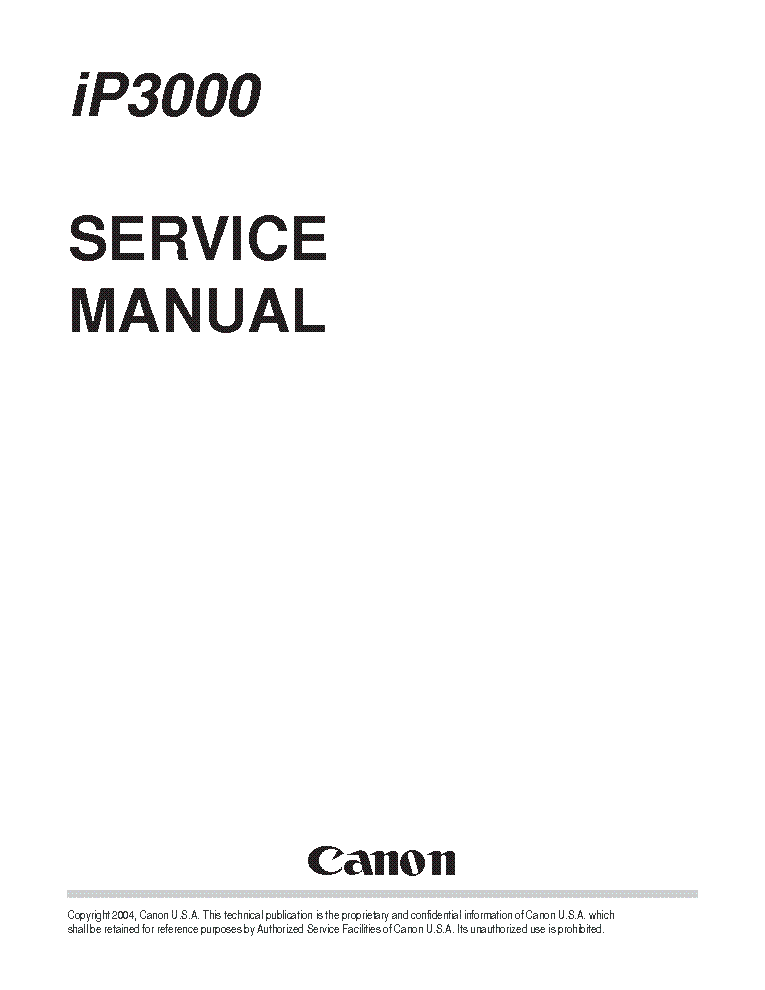canon pixma ip3000 sm service manual download schematics eeprom rh elektrotanya com IP Service Provider Euigene IP Services