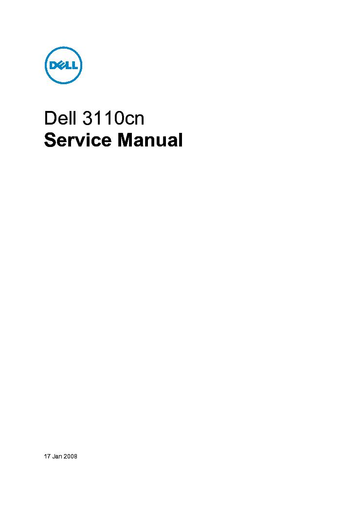 dell 3110cn sm service manual download schematics eeprom repair rh elektrotanya com dell color laser 3110cn service manual dell color laser 3110cn service manual