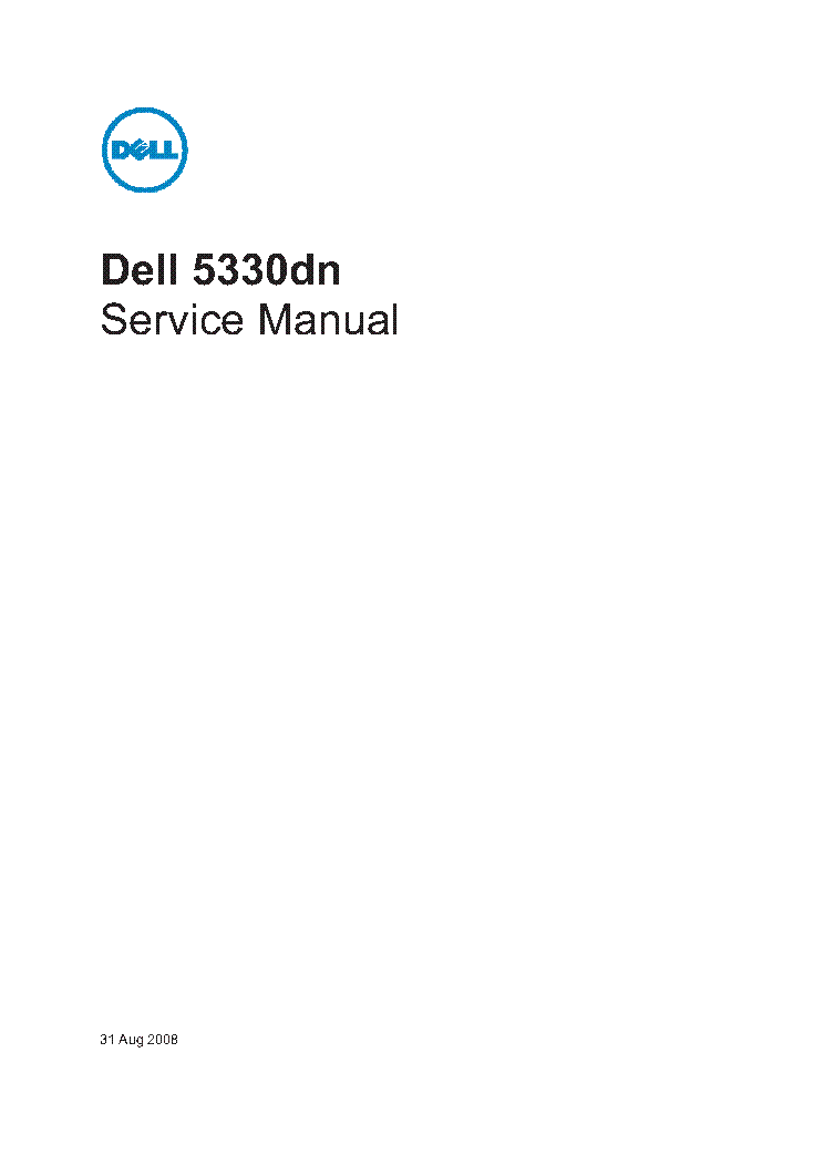 5330dn Service manual