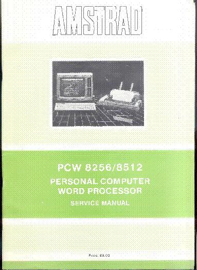 AMSTRAD PCW8000 SERIES SERVICE MANUAL 300DPI Service Manual download