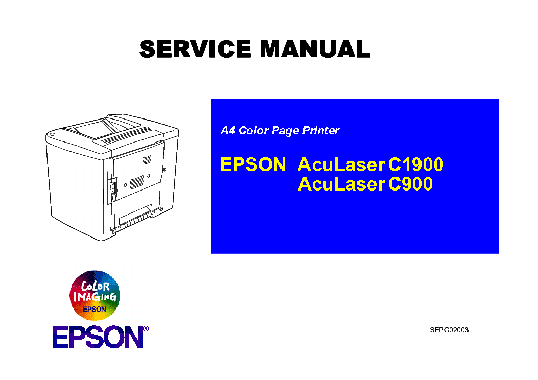 epson aculaser c1900 c900 sm service manual download schematics rh elektrotanya com Epson LQ Epson Stylus Pro