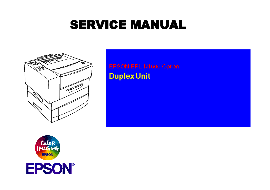 Driver for EPSON EPL-N1600