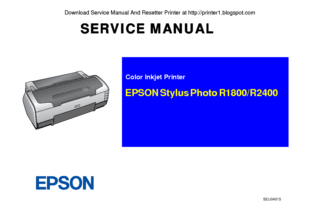 epson stylus photo r1800 r2400 sm service manual download rh elektrotanya com Epson R2000 Epson R1800 Driver