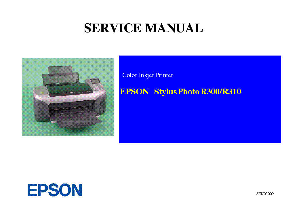 epson r300 user manual product user guide instruction u2022 rh testdpc co Owner's Manual Repair Manuals