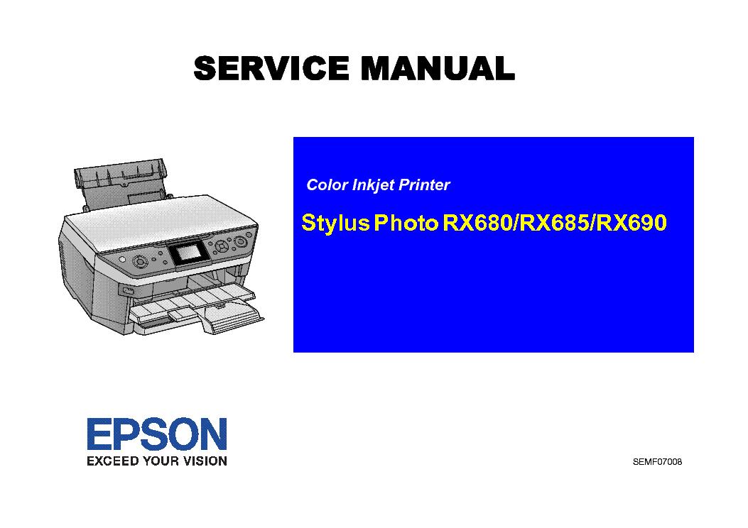 epson stylus photo rx680 685 690 service manual download schematics rh elektrotanya com Epson Printer All in One Epson Stylus Photo RX680