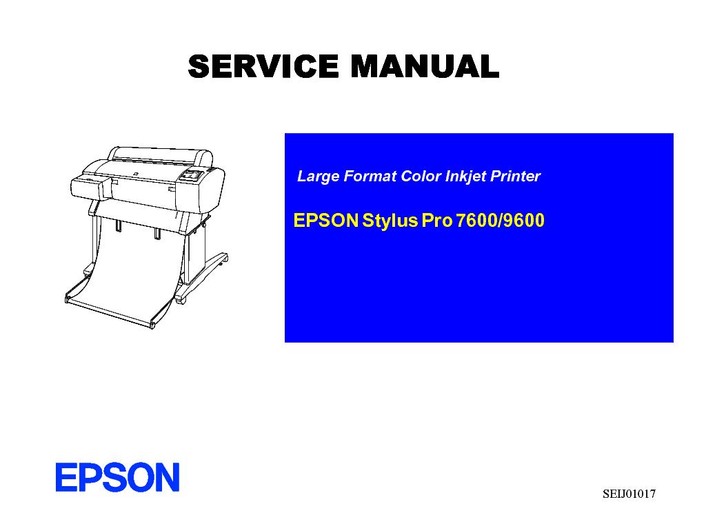 epson stylus pro 7600 9600 sm 1 service manual download schematics rh elektrotanya com Epson Stylus Pro 7890 Epson Stylus Pro 7890