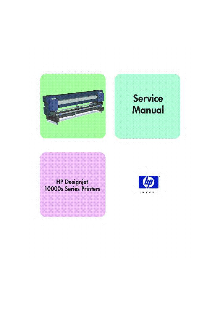 hp designjet z3200 service manual