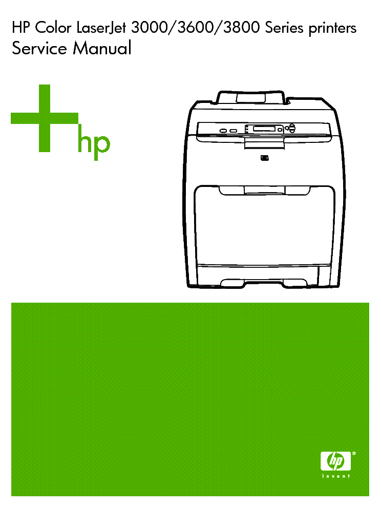 Service Manual Hp 3380 Software