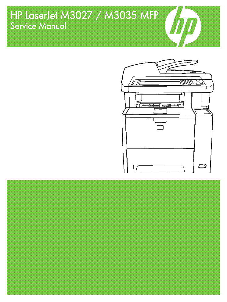 Ebook-4423] hp laserjet m3035 mfp printer service repair workshop.