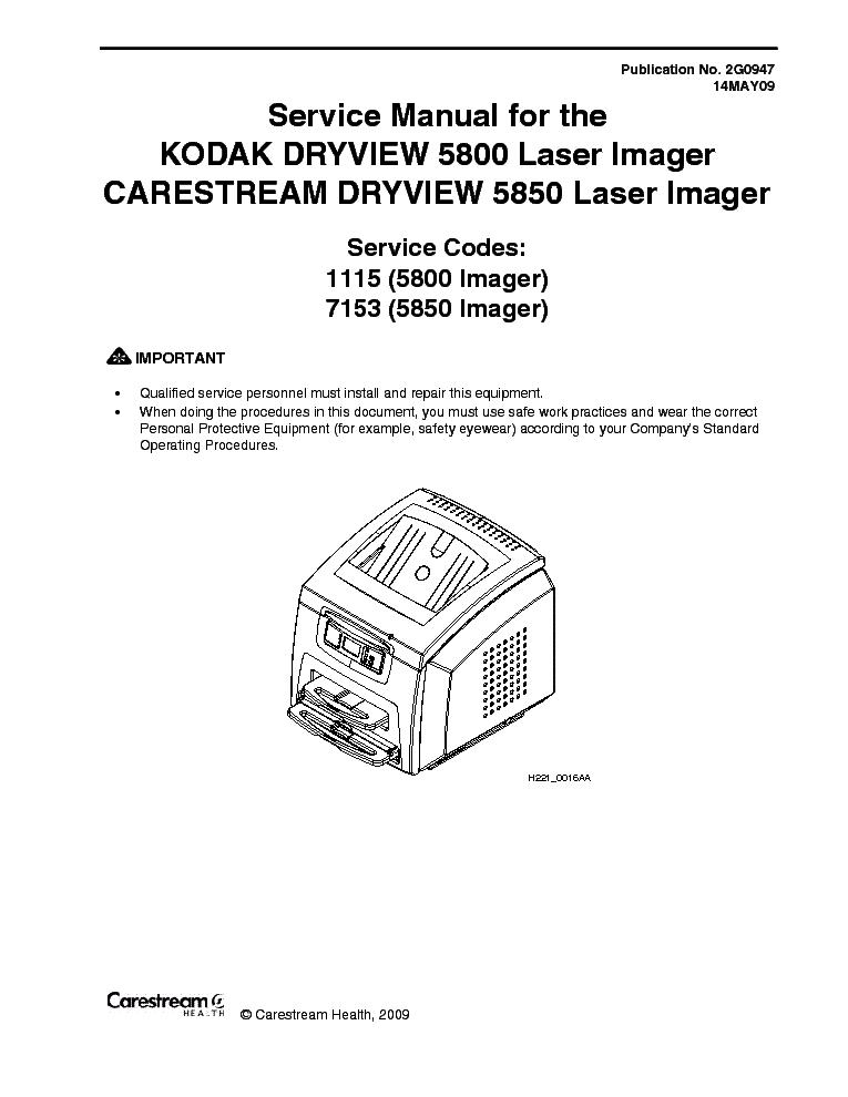 kodak dryview 5800 5850 full service manual download schematics rh elektrotanya com