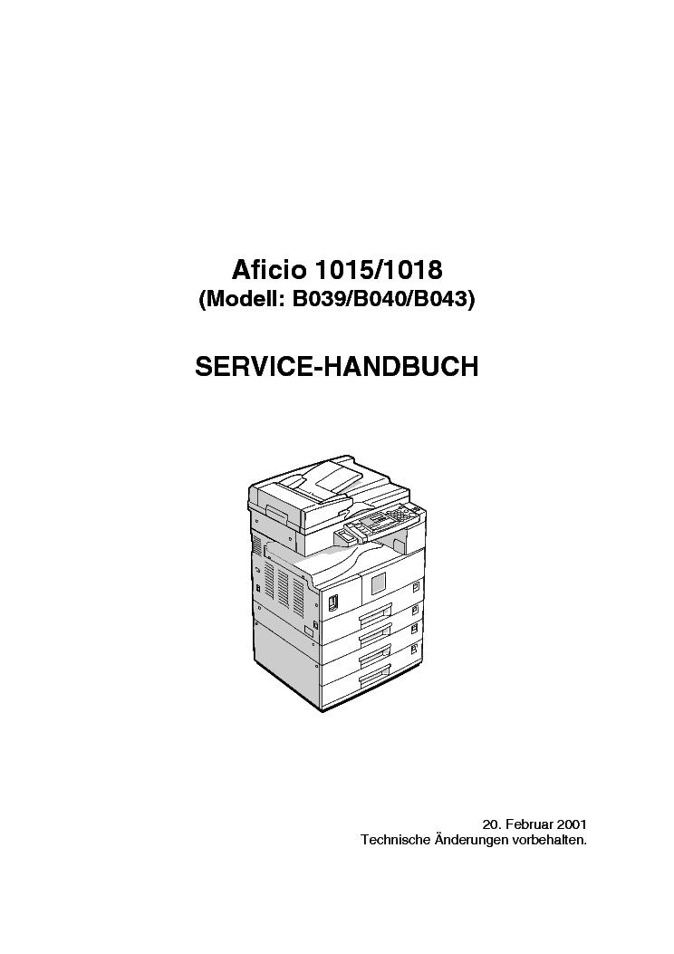 ricoh aficio 1015 1018 b039 040 043 service manual download rh elektrotanya com ricoh aficio 1018 service manual download Ricoh Aficio 1015
