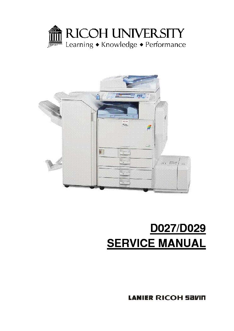 ricoh installation manuals