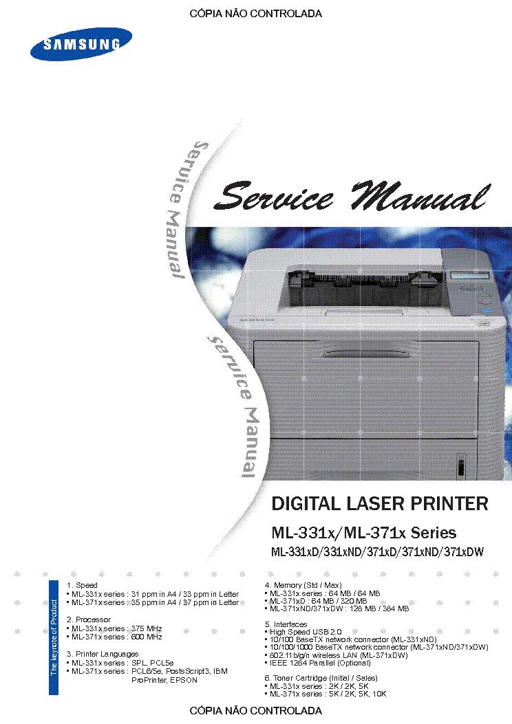 samsung ml 1210 ml 1250 ml 1220m sm service manual download rh elektrotanya com Samsung Printer Buttons Samsung Printer Xpress