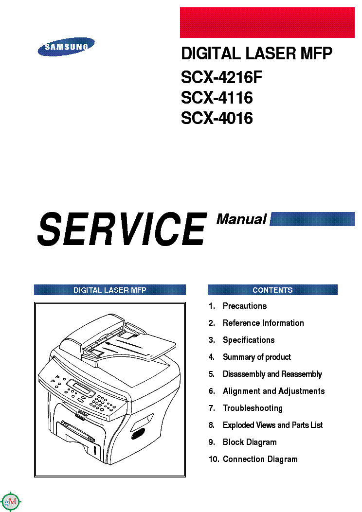 samsung scx 4016 4116 4216f service manual free download schematics eeprom repair info for. Black Bedroom Furniture Sets. Home Design Ideas