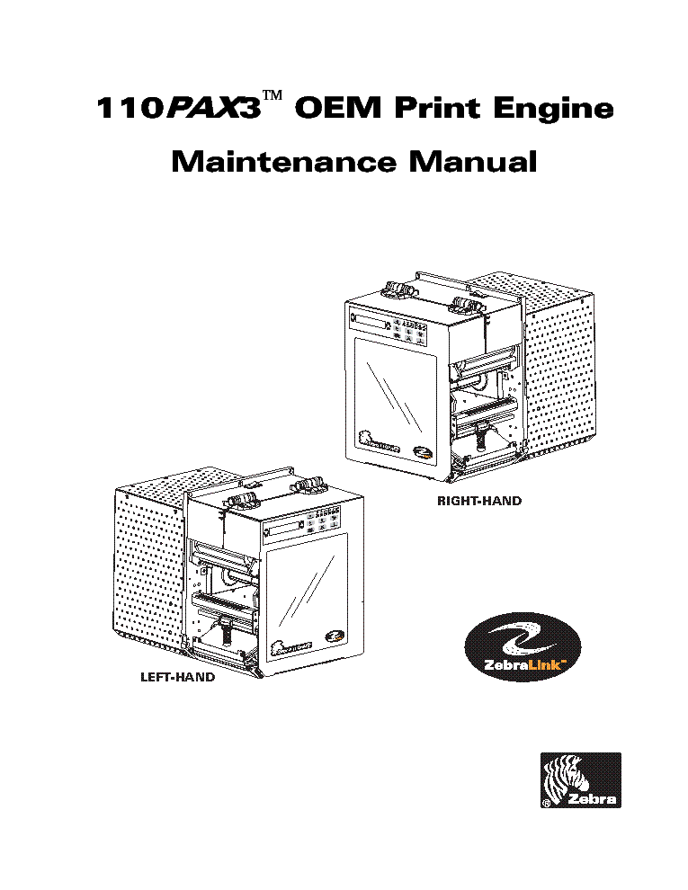 zebra 110pax3 sm service manual download schematics eeprom repair rh elektrotanya com Service ManualsOnline Parts Manual