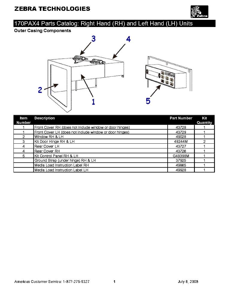 zebra 110pax3 sm service manual download schematics eeprom repair rh elektrotanya com Repair Manuals Owner's Manual