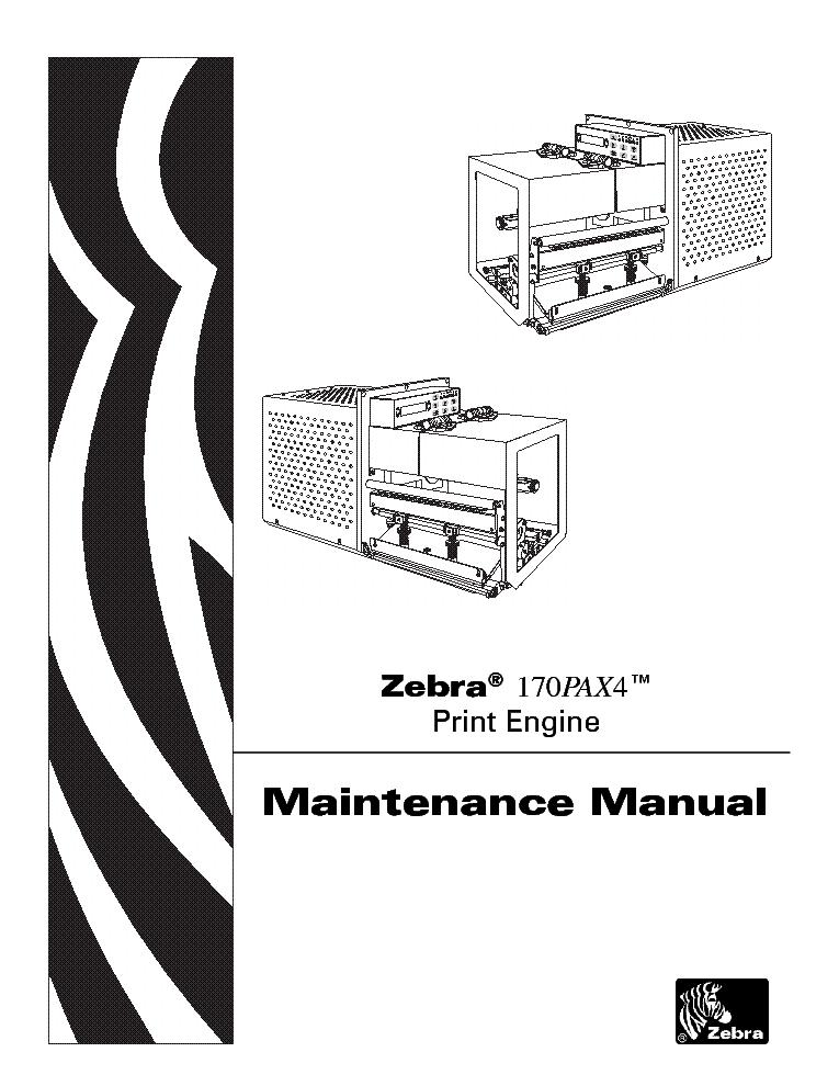 zebra 110pax3 sm service manual download schematics eeprom repair rh elektrotanya com Parts Manual Parts Manual