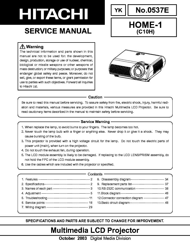 hitachi home 1 c10h service manual download schematics eeprom rh elektrotanya com User Training Clip Art User Guide
