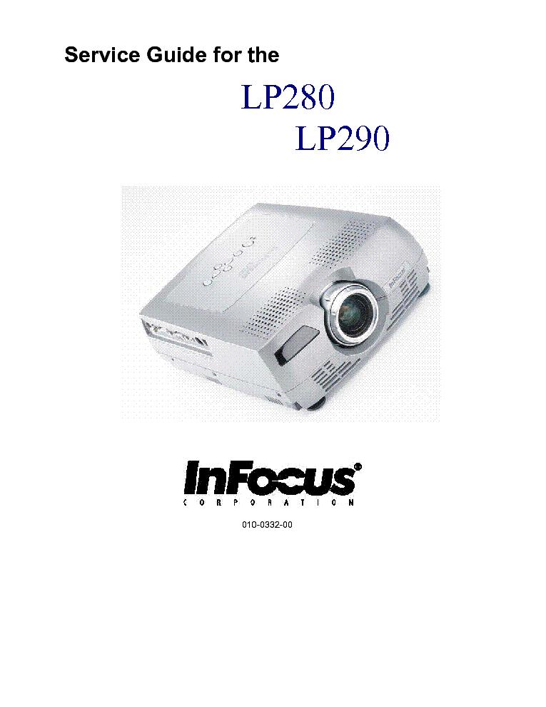 infocus lp280 290 service manual download schematics eeprom rh elektrotanya com infocus in102 service manual infocus in112 service manual