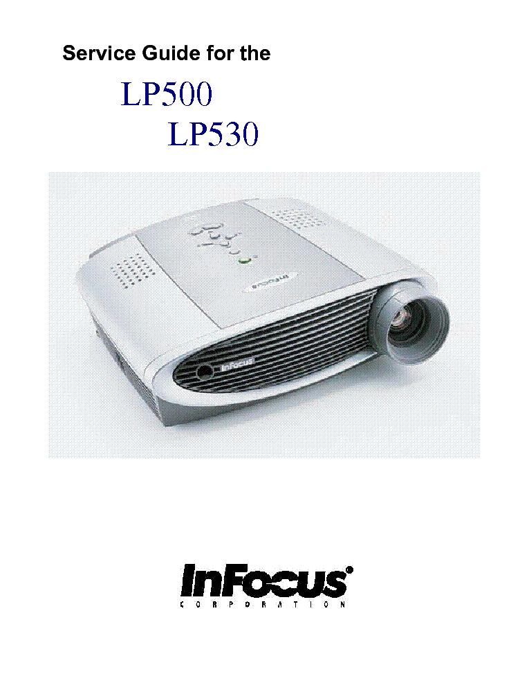infocus lp500 lp530 projector service manual download schematics rh elektrotanya com infocus x10 service manual infocus in102 service manual