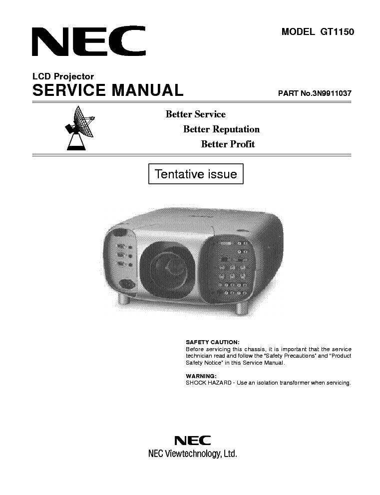 nec gt1150 service manual download schematics eeprom repair info rh elektrotanya com User Guide Template Kindle Fire User Guide